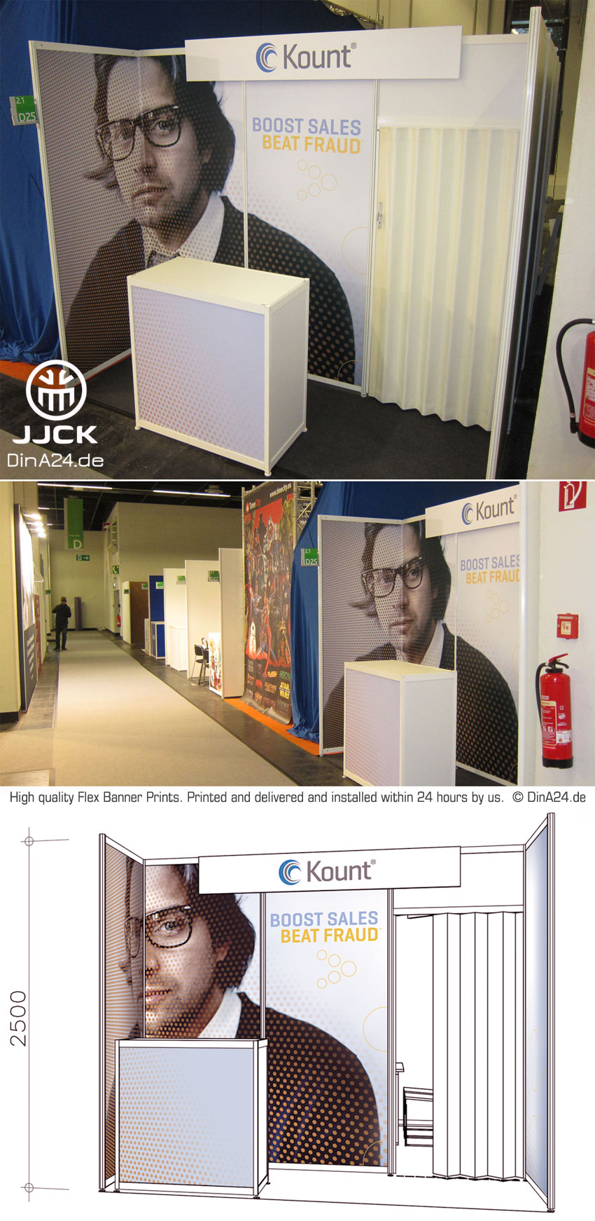 Flex-Banner-prints+installation_Kount_Gamescom_Cologne_Work_Sample_of_www.DinA24.de